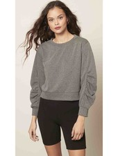 Cupcakes & Cashmere 'Dionne' Cropped Sweatshirt
