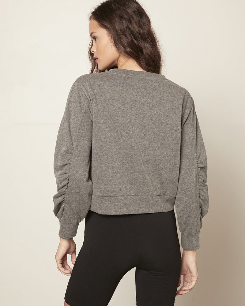 Cupcakes & Cashmere Cupcakes & Cashmere 'Dionne' Cropped Sweatshirt