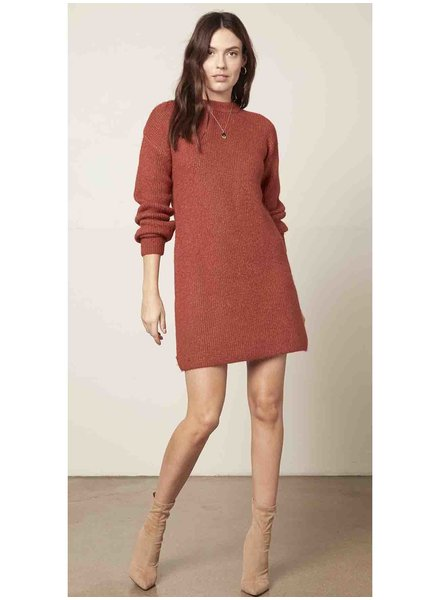 Cupcakes & Cashmere 'Twain' Mini Sweater Dress (Small) **FINAL SALE**