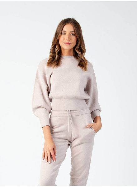Lucca Couture 'Miranda' Bubble Sleeve Sweater