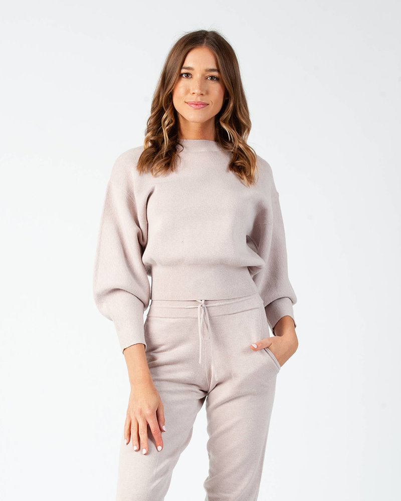 Lucca Couture Lucca 'Miranda' Bubble Sleeve Sweater