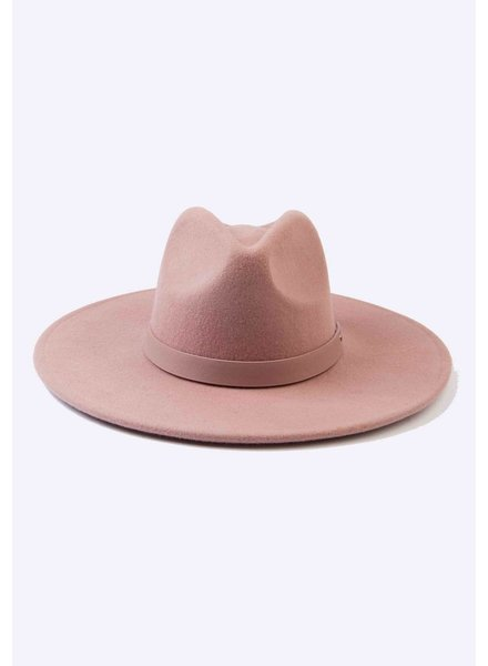 Lucca Couture 'Tanny' Wool Fedora | Mauve