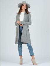 Lucca Couture Pepper 'Jojo' Long Cardigan