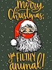 Belle Up Merry Christmas Ya Filthy Animal e-Gift Card