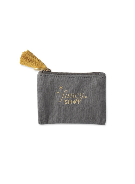 Fringe Studio 'Fancy Sh*t' Canvas Coin Pouch