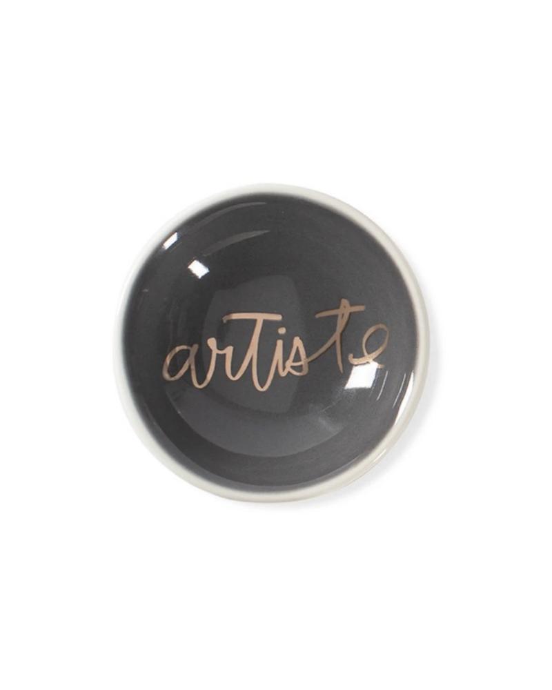 Fringe Studio Fringe Studio 'Artiste' Round Trinket Tray