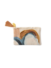 Fringe Studio Canvas Coin Pouch | Abstract