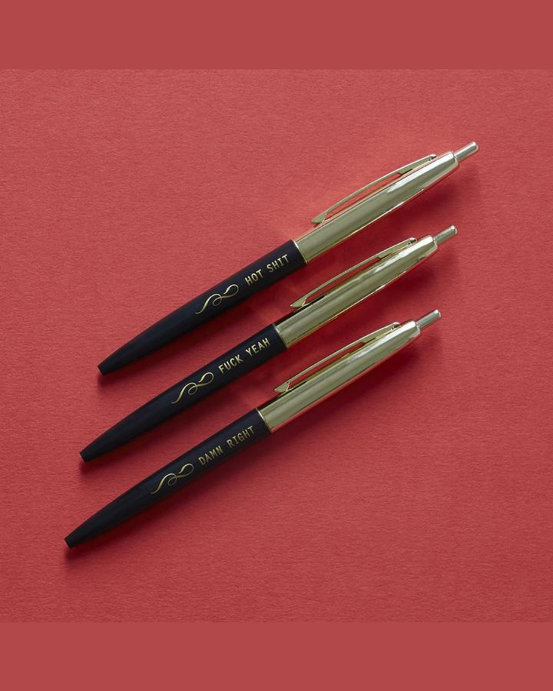 Chronicle Books Chronicle 'F*ck Yeah: Three Pens (Pack of 3)