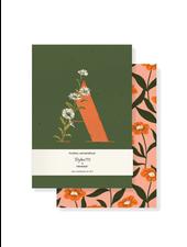 Fringe Studio Monogram Floral Mini Journal Set (Pack of 2)