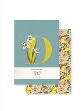 Fringe Studio Monogram Floral Mini Journal Set (Pack of 2) **FINAL SALE**