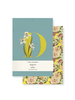 Fringe Studio Fringe Studio Monogram Floral Mini Journal Set (Pack of 2)