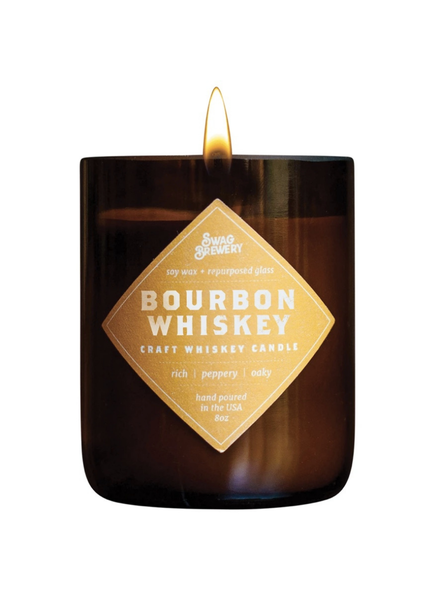 Swag Brewery Brew Candle in Bourbon Whiskey **FINAL SALE**