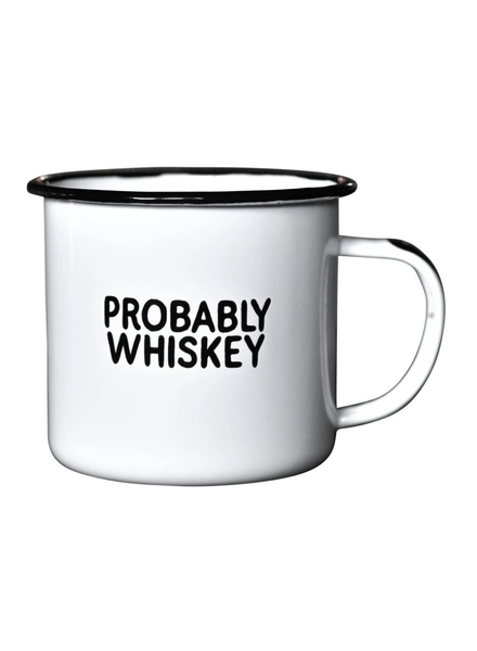 Swag Brewery Enamel Mug | Probably Whiskey