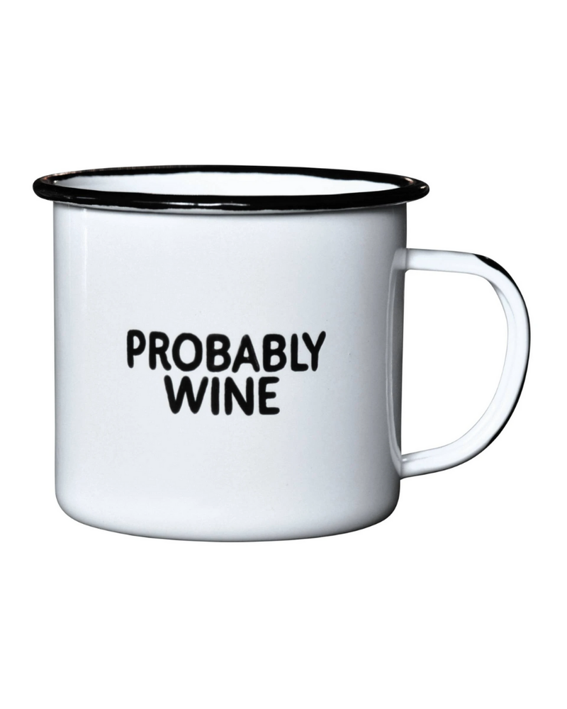 Swag Brewery Swag Brewery Enamel Mug | Probably Wine