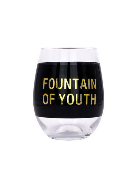 About Face Designs Wine Glass | Fountain of Youth