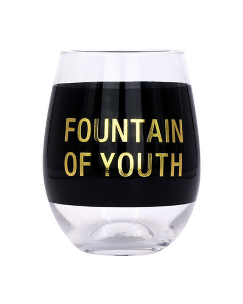 About Face Designs About Face Wine Glass | Fountain of Youth