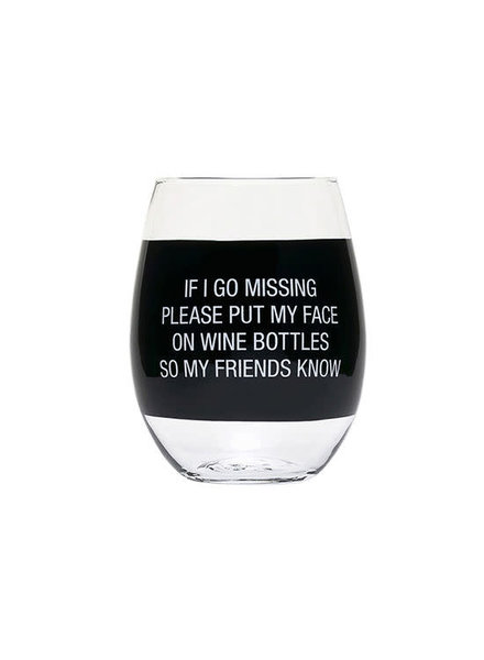 About Face Designs Wine Glass | Wine Bottles