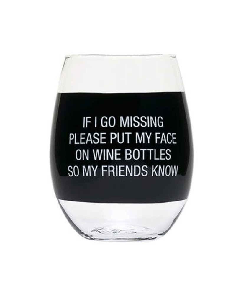 About Face Designs About Face Wine Glass | Wine Bottles