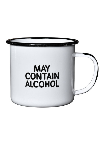 Swag Brewery Enamel Mug | May Contain Alcohol **FINAL SALE**
