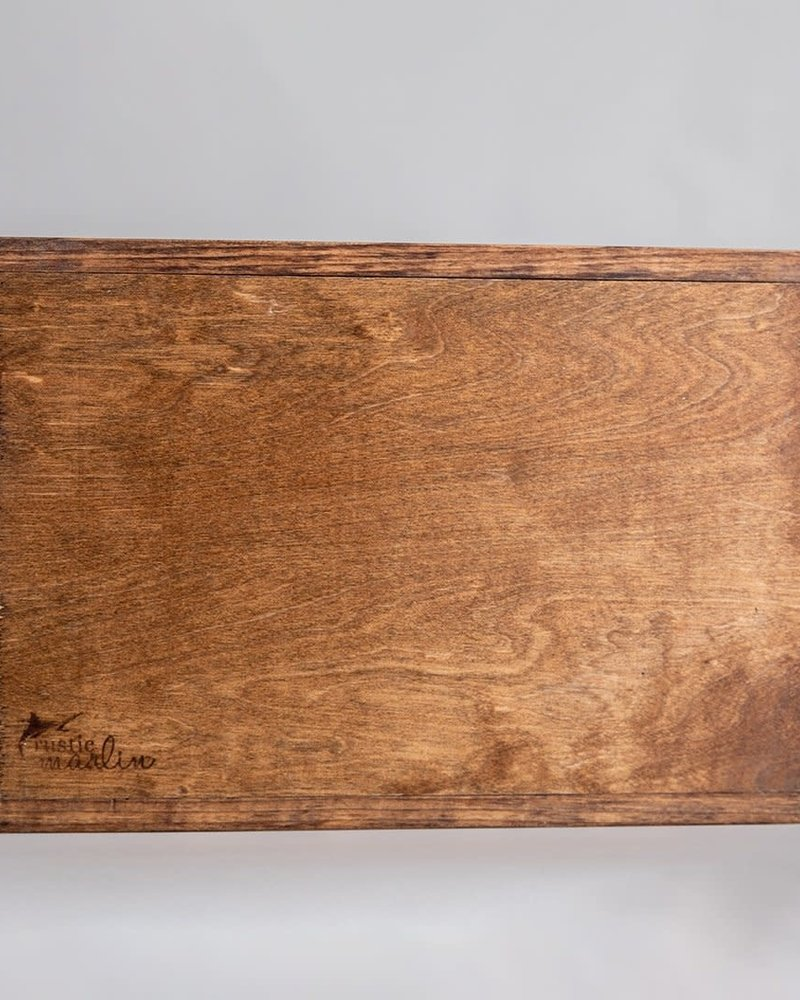 Marshes, Fields & Hills by Rustic Marlin Rustic Marlin Home Sweet Home 'Beverly' Serving Tray