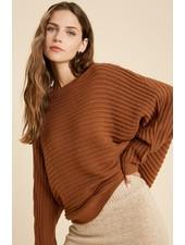 Wishlist 'Abby' Dolman Sleeve Stripe Sweater