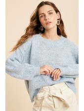 Wishlist 'Blue Island' Multicolor Knit Sweater