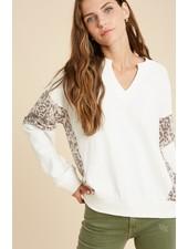 Wishlist 'Leaping Leopard' Sweatshirt