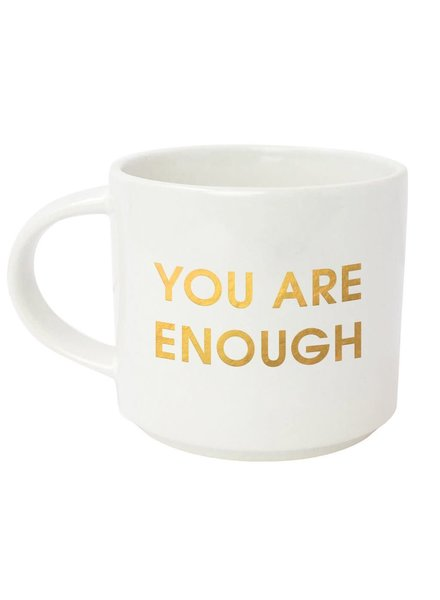 Chez Gagne Oversized Stacking Mug | You Are Enough