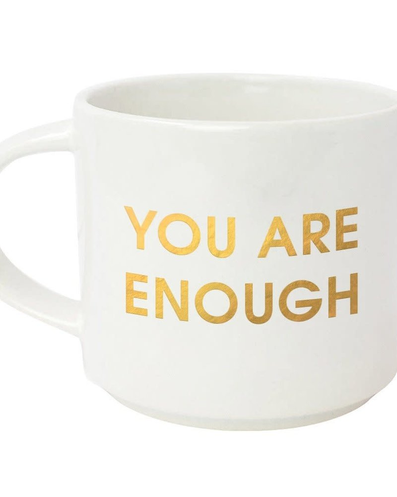 Chez Gagne Chez Gagne Oversized Stacking Mug | You Are Enough