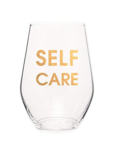 Chez Gagne Stemless Wine Glass | Self Care