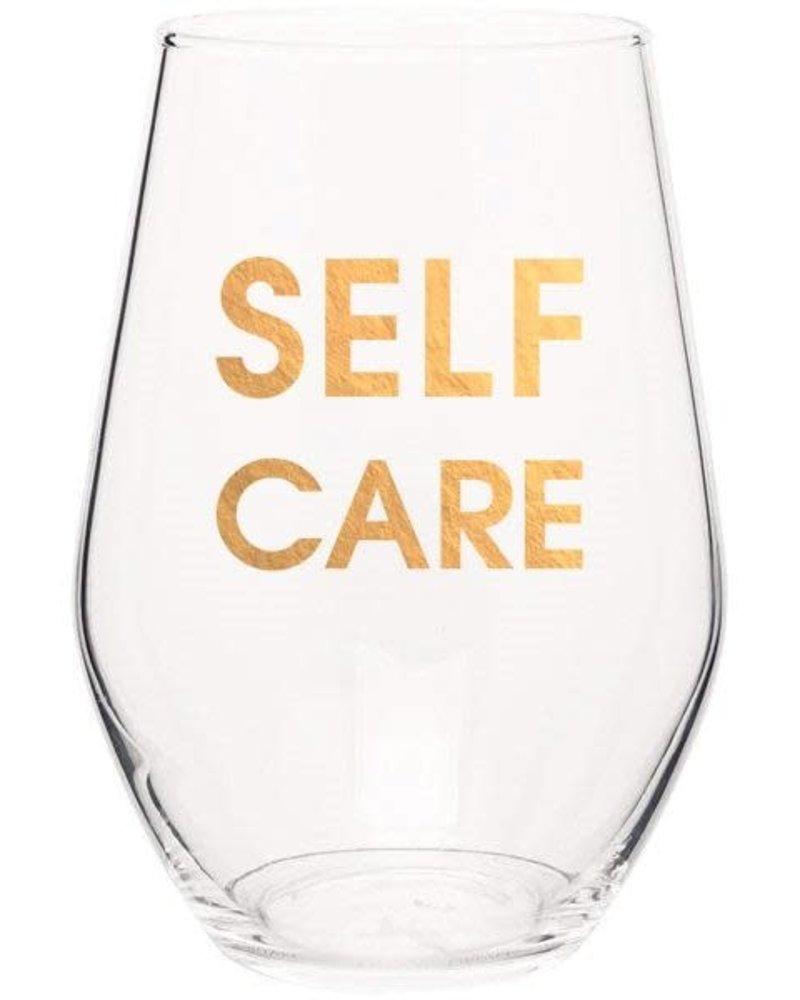 Chez Gagne Chez Gagne Stemless Wine Glass | Self Care
