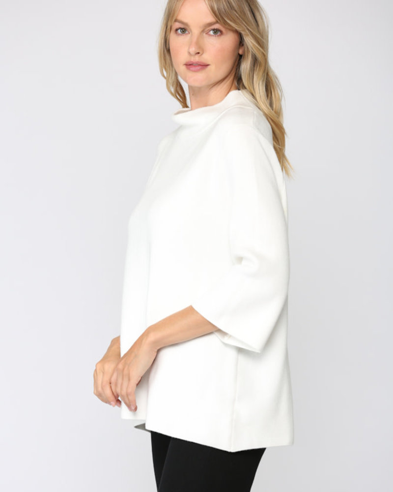 Fate by LFD Fate 'Mock My Words' Bell Sleeve Sweater