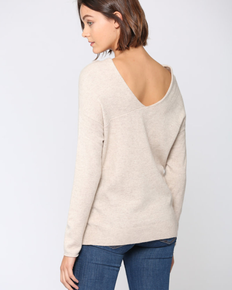 Fate by LFD Fate 'For The Love Of Oats' Cashmere Blend Sweater