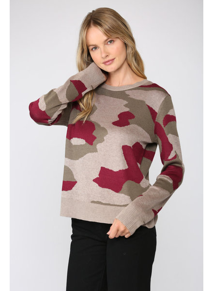 Fate by LFD 'Caught In A Jam' Camo Pullover