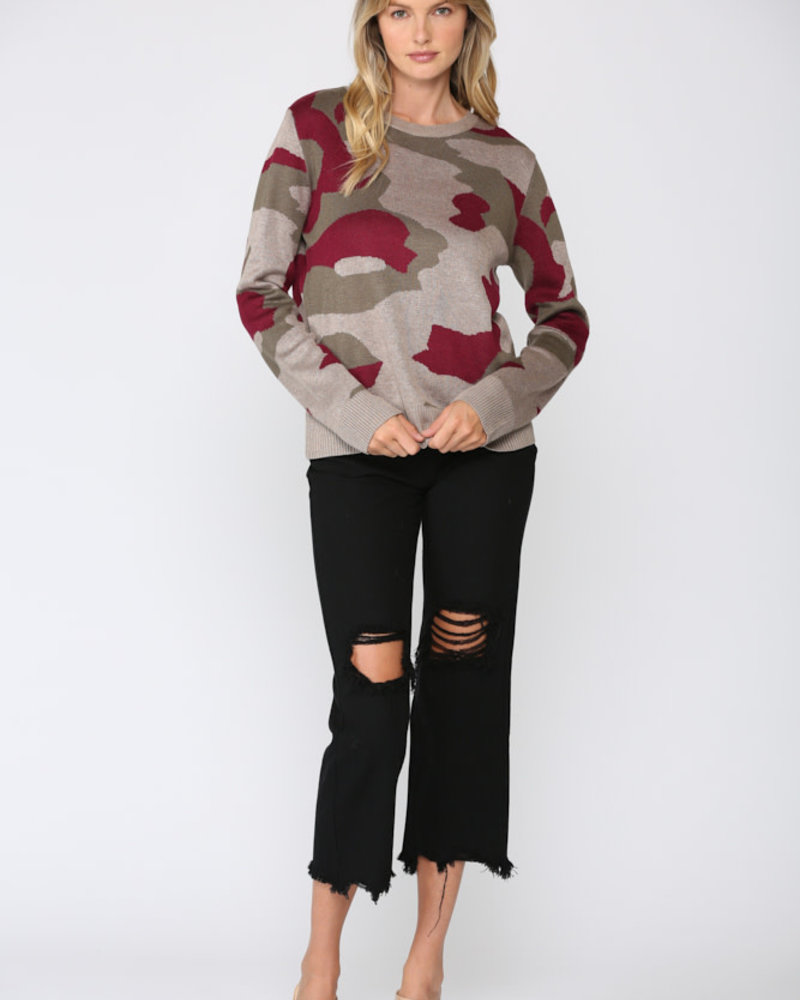 Fate by LFD Fate 'Caught In A Jam' Camo Pullover **FINAL SALE**