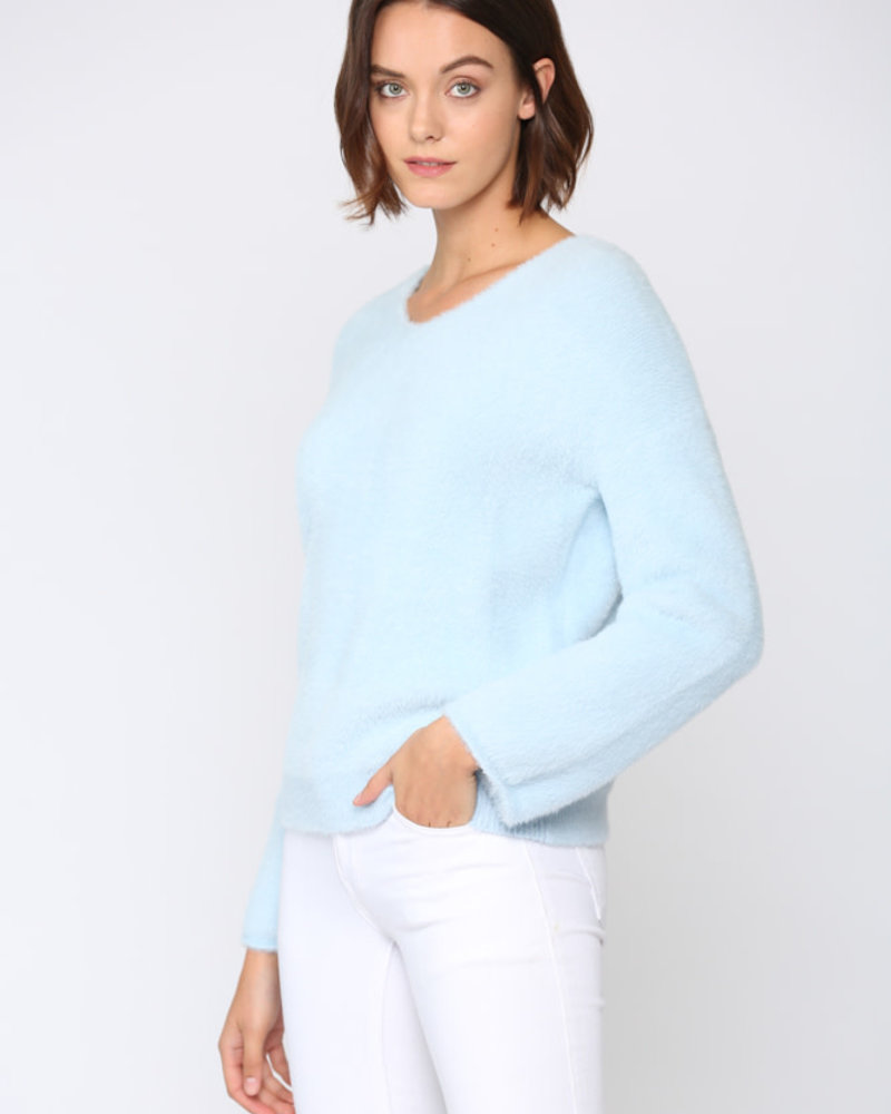 Fate by LFD Fate 'Head In The Clouds' Fuzzy Sweater
