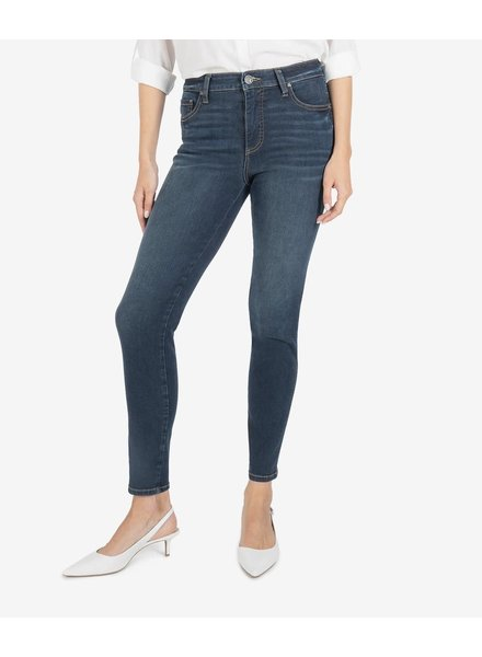Kut from the Kloth 'Diana Fab Ab' Relaxed Fit Skinny Jeans in Grateful