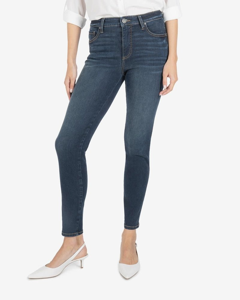 Kut from the Kloth Kut From The Kloth 'Diana Fab Ab' Relaxed Fit Skinny Jeans in Grateful
