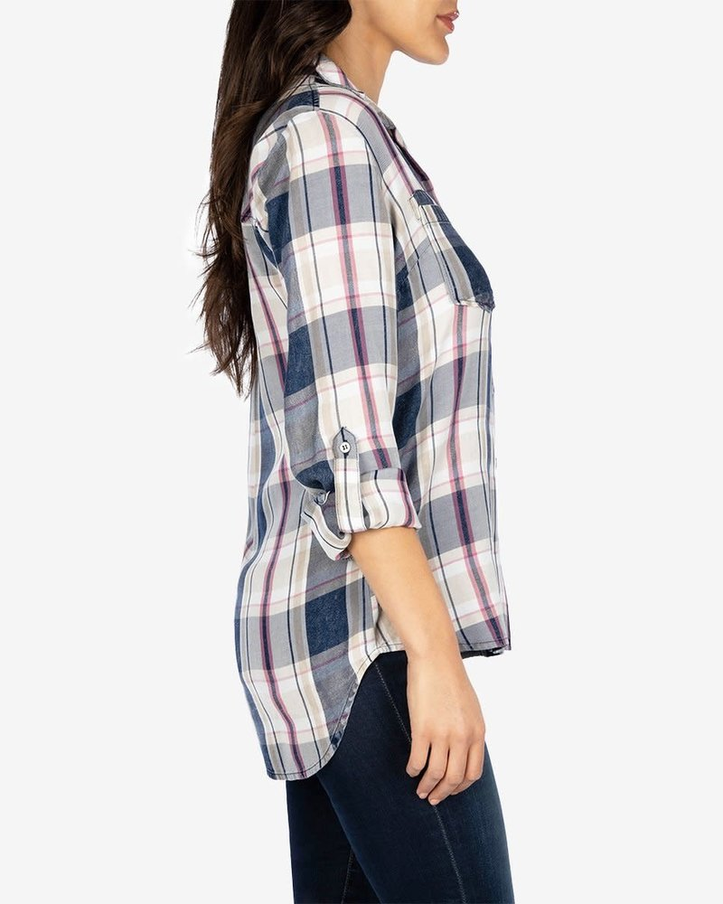 Kut from the Kloth Kut from the Kloth 'Hannah' Plaid Button Up Shirt