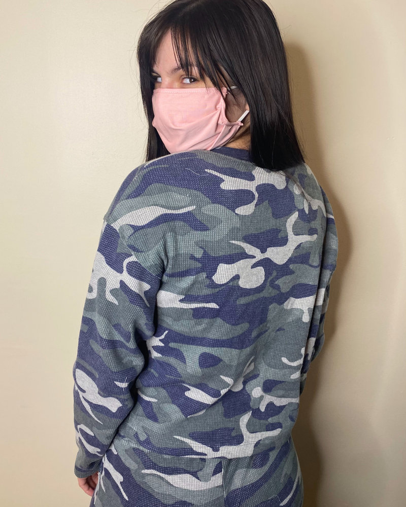 RD Style RD Style 'Fade Into the Background' Camo Pullover