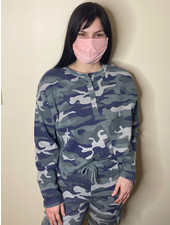 RD Style 'Fade Into the Background' Camo Pullover **FINAL SALE**