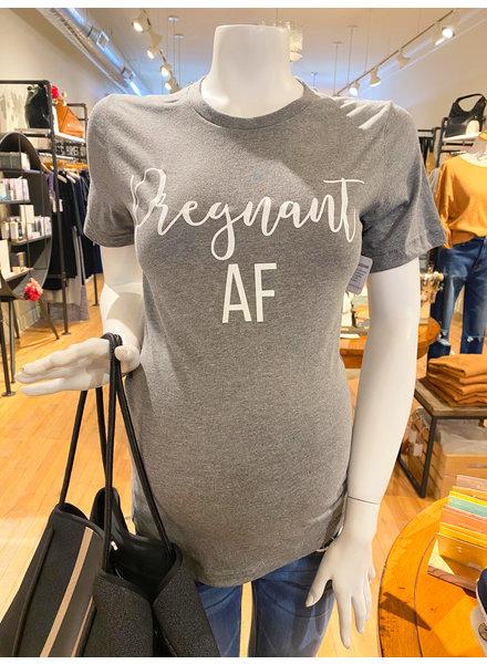 FAMS Design 'Pregnant AF' Tee