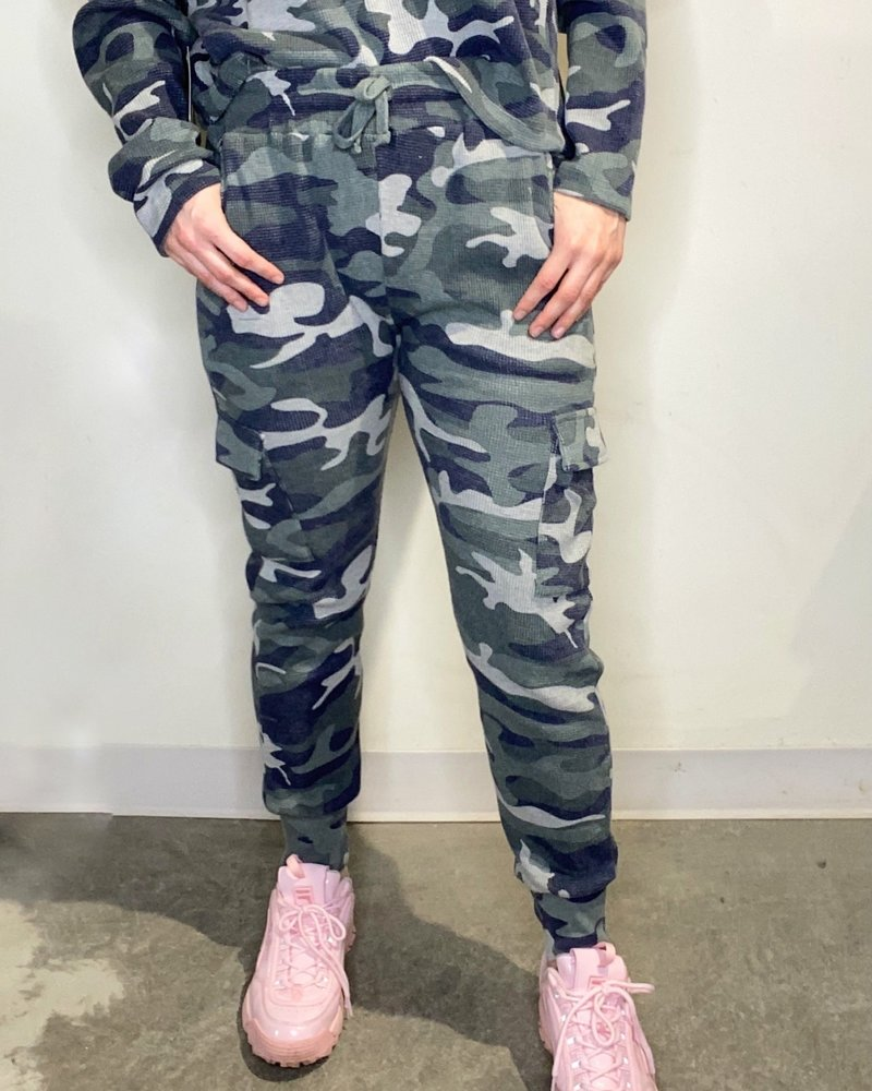 RD Style RD Style 'Fade Into the Background' Camo Jogger