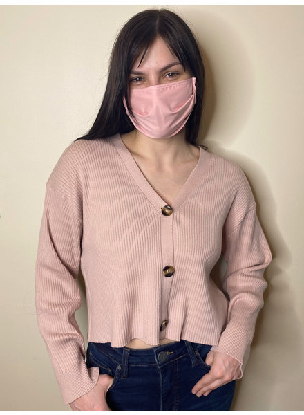 RD Style 'For the Love of Cotton Candy' Cropped Sweater