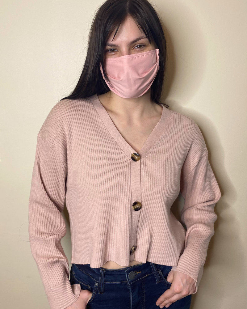 RD Style RD Style 'For the Love of Cotton Candy' Cropped Sweater