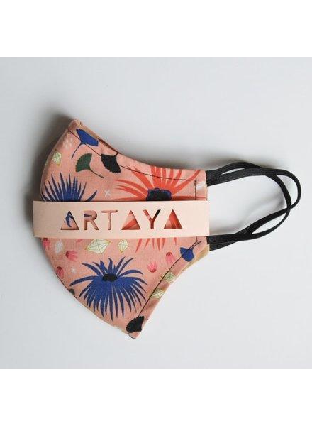 Artaya Loka Adult Face Mask | Pink Sparkler