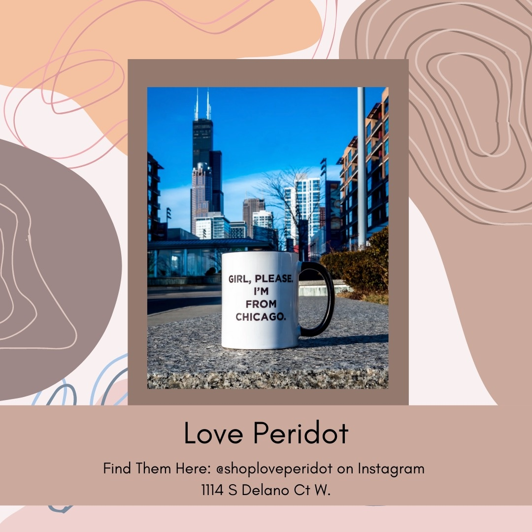 Belle Up Black-Owned Chicago_Love Peridot