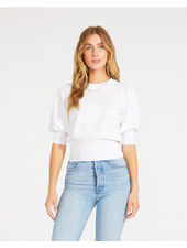 BB Dakota Optic White 'Girl Next Door' Top