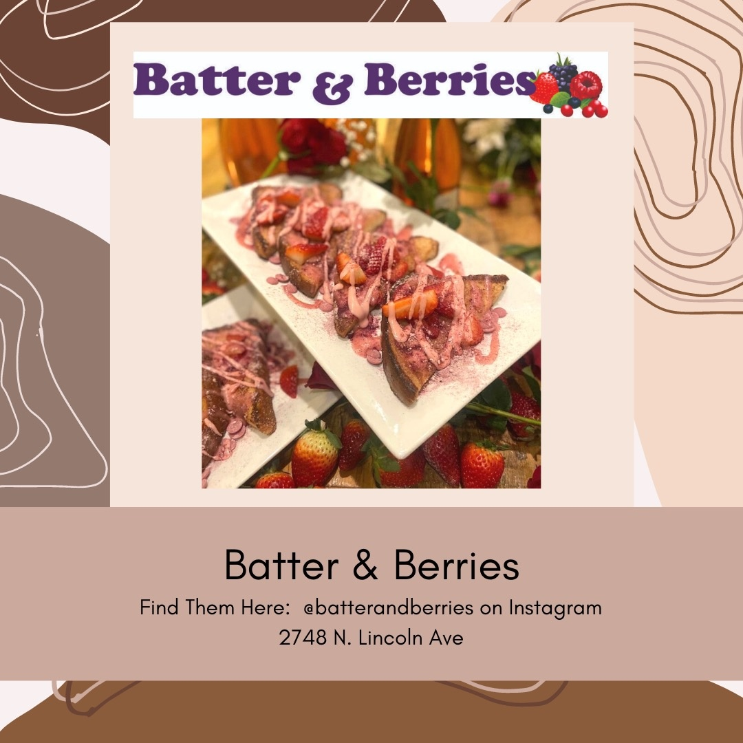 Belle Up Black Owned Chicago_Batter and Berries
