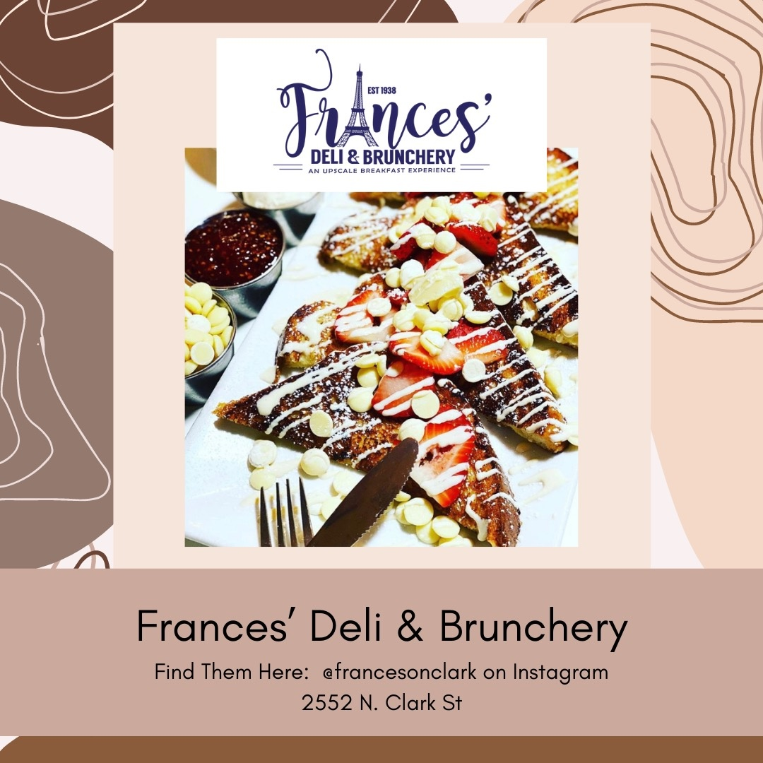 Belle Up Black Owned Chicago_Frances Deli and Brunchery
